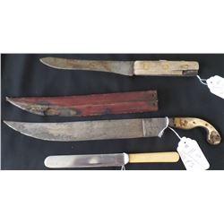 Three old Knives