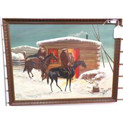 Original Western Painting