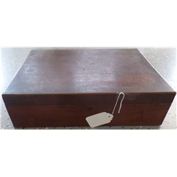Wooden Cash Box