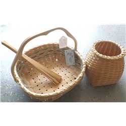 Baskets from Nova Scotia, Canada