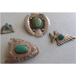 Collection Sterling Silver and Navajo Jewelry