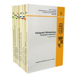 Eleven Volumes of Jaeger, ex John Davenport Library