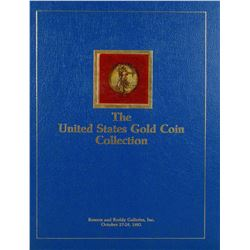 Walter Breen's Inscribed Hardcover of the Eliasberg U.S. Gold Coins Sale