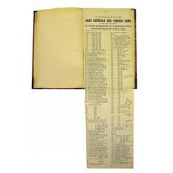 Rare 1865 Conant & Sherburne Broadside Auction