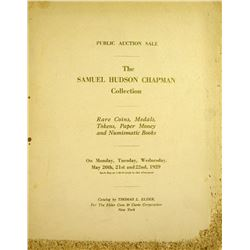 Large-Paper Copy of the Elder Sale of the Chapman Collection