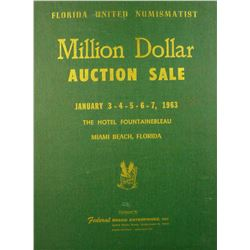 Hardcover Federal Brand Million Dollar Auction Sale