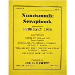Numismatic Scrapbook Magazine, Volume II
