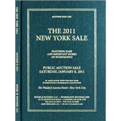 Hardcover Kolbe & Fanning 2011 NY Book Auction