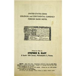 Stephen Nagy Catalogue