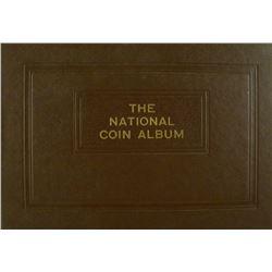Small-Size Raymond National Coin Album for Half Dollars