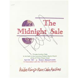 Original Pre-Publication Materials for the 1991 Midnight Sale