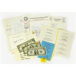 Numismatic Correspondence to Margo Russell