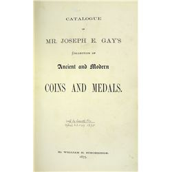 Special Thick-Paper Copy of the Joseph Gay Collection