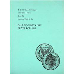 Advisory Panel Report on Sale of CC Dollars