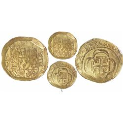 Mexico City, Mexico, cob 8 escudos, Philip V, assayer J (1714/GRAT variety), from the 1715 Fleet, en