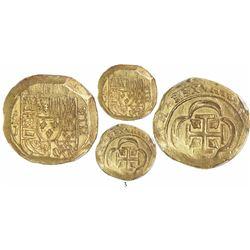 Mexico City, Mexico, cob 8 escudos, Philip V, assayer J (1714/GRAT variety), from the 1715 Fleet, en