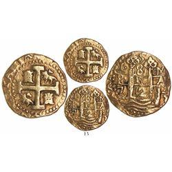 Lima, Peru, cob 8 escudos, 1723M.