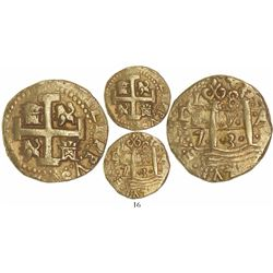 Lima, Peru, cob 8 escudos, 1731N, from the 1733 Fleet.