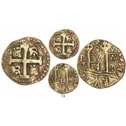 Lima, Peru, collb 8 escudos, 1741V.