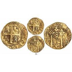 Lima, Peru, cob 8 escudos, 1745V.