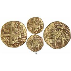 Lima, Peru, cob 8 escudos, 1748R.