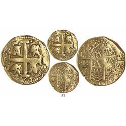 Lima, Peru, cob 8 escudos, 1750R.