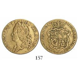Great Britain (London, England), guinea, George II, 1750, reportedly from the Royal Savage (Benedict