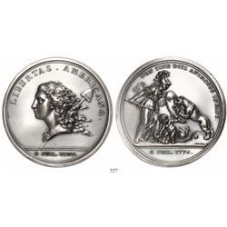 "USA, ""Libertas Americana"" medal (1783), 1976 Paris Mint restrike in silver, ex-LaRiviere."