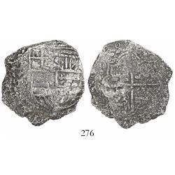 Potosi, Bolivia, cob 8 reales, (16)20T, Grade 3.