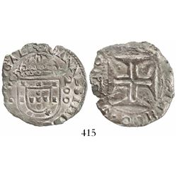 Lisbon, Portugal, 200 reis, Joao IV, rare provenance.