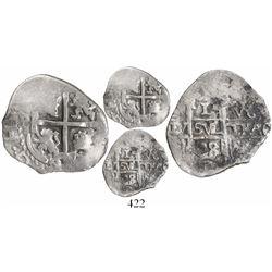 Potosi, Bolivia, cob 1 real, 1688VR, ex-Christie's.