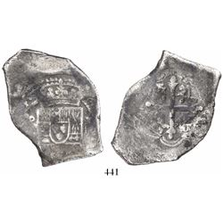 Mexico City, Mexico, cob 8 reales, (171)4(J), new style.
