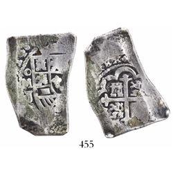 Mexico City, Mexico, cob 4 reales, (1)714J.