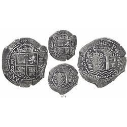 Potosi, Bolivia, cob 8 reales, 1652E Transitional Type V/A, ex-Capitana, ex-Ullian.