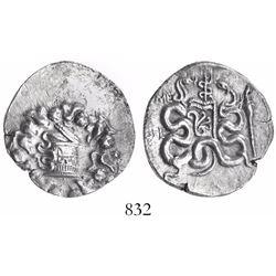 Ionia, Ephesus, AR cistophoric tetradrachm, dated CY45 (90/89BC).