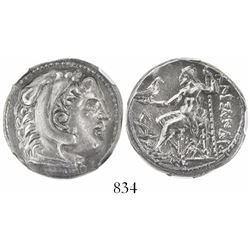 Kings of Macedon, AR tetradrachm, Alexander III, 336-323 BC, early posthumous issue struck under Kas