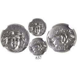 Macedonian Kingdom, AR drachm, Perseus, 179-168 BC, Third Macedonian War issue, uncertain mint in Th