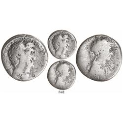Syria, Seleucis and Pieria, AR tetradrachm, Antony and Cleopatra VII of Egypt, struck 36 BC, rare an