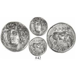 Thessaly, Larissa, AR drachm, ca. 365-356 BC.
