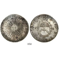 Argentina (River Plate Provinces), Potosi mint, 8 reales, 1813J.