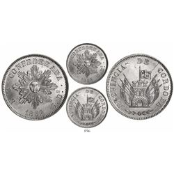 Cordoba, Argentina, 8 reales, 1852.