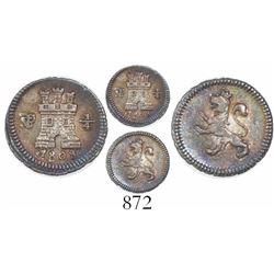 Potosi, Bolivia, 1/4 real, 1808.