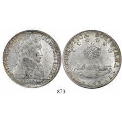Potosi, Bolivia, 8 soles, 1833L.
