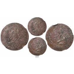 Tlalpujahua (Supreme National Congress), Mexico, 8 reales, Ferdinand VII, 1813, struck silver, encap