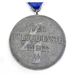 GERMAN NAZI WAFFEN SS 4 YEAR LONG SERVICE DECORATION