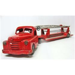 C. 1950'S STRUCTO FIRE DEPARTMENT HOOK & LADDER TRUCK
