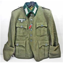 GERMAN NAZI ARMY INFANTRY OFFICERS 2ND LT OFFICERS TUNIC