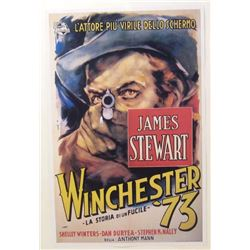"""WINCHESTER 73"" JAMES STEWART MOVIE POSTER PRINT"