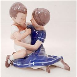 VINTAGE BING & GRONDAHL MOTHER & SON FIGURINE