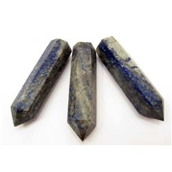 BIG LOT OF APPROX. 850 CTS. OF LAPIS LAZULI QUARTZ CRYSTAL POINTS